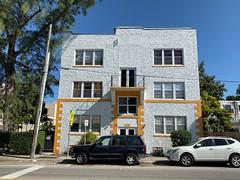 Apartment Building Little Havana 1926 (Phillip Pessar) Tags: building apartment architecture little havana miami 1926
