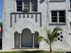 6th Court Apartments Little Havana 1925 (Phillip Pessar) Tags: building apartment architecture little havana miami sixth court 1925