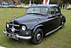 629 Rover 75 P4 (Pre-facelift) (1951) (robertknight16) Tags: rover british 1950s p4 rover75 cyclops bashford weston weston2016 afl606