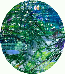 In the Garden (Suz .. Abstract Art) Tags: art flower water garden diamond flowers love decor interior decoration abstract blue green violet acrylic action beautiful brush canvas color contemporary creative design expressive harmony joy joyful lovely mixedmedia modern oil paint painting sapphire silver stroke white ocean