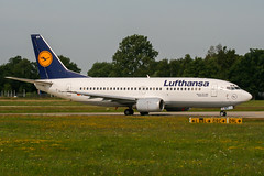D-ABET (PlanePixNase) Tags: aircraft airport planespotting haj eddv hannover langenhagen lufthansa boeing 737 737300 b733 733
