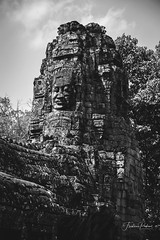 Bayon (fredericpecheux) Tags: bayon temple nb bw visages cambodge cambodia angkor canon eos 60d asie asia