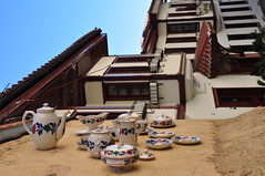 DSC_0228 (bilgin_tunc) Tags: tea cup wall yellow house antique