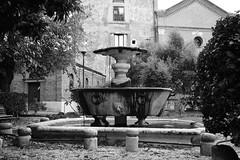 Fountain (s_lagann) Tags: rome street bw fountain