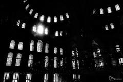 Fatih Mosque, Istanbul, Turkey (alamond) Tags: fatih mosque monochrome istanbul turkey moslem faith architecture light windows canon 7d markii mkii llens ef 1740 f4 l usm alamond brane zalar islam