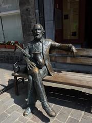 Adolphe  Sax (@ngèle) Tags: belgique wallonie dinant personnage adolphesax sax facteurdemusique musique saxophone 19èmesiècle statue sculpture sony dscrx100