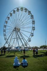 Sunday Wheel (NathalieSt) Tags: europe france hérault lagrandemotte languedocroussillon leica occitanie borddemer leicaq2 mer q2 sea seaside