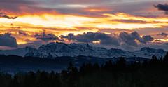 Morgenstimmung (andre.kirtz) Tags: schweiz natur morgenstimmung aargau freiamt alpen drama