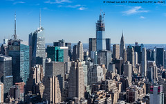 42nd Street Towers (20191019-DSC00200) (Michael.Lee.Pics.NYC) Tags: newyork manhattanwest ohny openhousenewyorkweekend aerial architecture cityscape skyline skyscraper sony a7rm2 fe24105mmf4g onevanderbilt chryslerbuilding 42ndstreet bankofamericatower