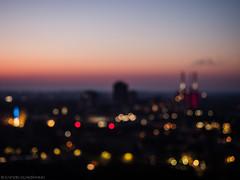 A bit blurry (katrin glaesmann) Tags: hannover neuesrathaus turmauffahrt sunset longexposure myhometown hkw heizkraftwerklinden gud chp dreiwarmebrüder viewingplatform colours bokeh bubbles