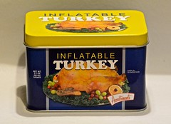 I Am So Looking Forward to Thanksgiving Dinner Today (ricko) Tags: inflatableturkey tin container thanksgiving 332365 2019