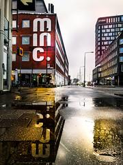 Puddle reflection (Maria Eklind) Tags: autumn november skåne malmö puddle reflection spegling sweden puddlereflection skånelän sverige