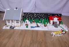 Lego Xmas Exhibition 2019 (Elfworld) Tags: lego exhibition xmas christmas advent bricks art building models afol mall molde photography hobby nerdy geeky minifigs minifigure starwars dccomics snow winter skiing claire