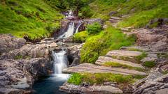 Watkin Path Waterfalls IV (Aron Radford Photography) Tags: yellow watkin path snowdon snowdonia wales water waterfall cascade pools landscape rocks walk hiking uk stream