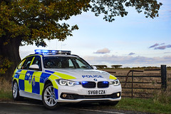 SV68 CZA (S11 AUN) Tags: durham constabulary bmw 330d 3series xdrive touring anpr police traffic car rpu roads policing unit 999 emergency vehicle sv68cza