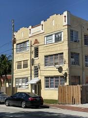 Apartment Building Little Havana 1925 (Phillip Pessar) Tags: apartment building little havana architecture miami 1925