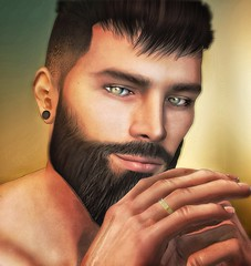 [ 📷 - 204 ] (insociable.sl) Tags: magnificient theowl husband wife couple cute love marriage alliance ring hipster beard model male man boy edit sl secondlife
