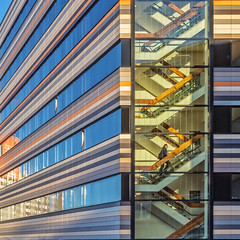 Rising Lines (Paul Brouns) Tags: architecture archidaily architecturephotography paulbrouns paulbrounscom stairs lines ibis hotel leiden rainbow square colours colors rising abstract canon