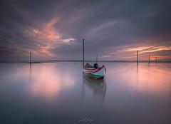 Ria de Aveiro - Portugal (paulosilva3) Tags: sunrise sunset lake mist colors peaceful zenworld boat canon lee filters lowepro manfrotto workshops phototours