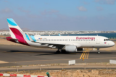 D-AEWL (GH@BHD) Tags: daewl airbus a320 a320200 a320214 eurowings ew ewg ace gcrr arrecife arrecifeairport lanzarote aircraft aviation airliner