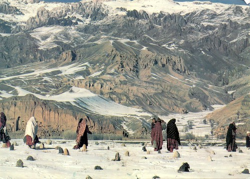 Most Afghans live in rural areas.