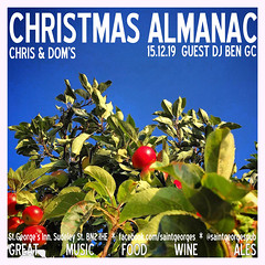 diary #2491: Christmas Almanac, December 15th 2019