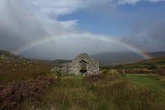 Rainbow At Saint Kevin's Way (Chris*Bolton) Tags: saintkevinsway saintkevin ruins rainbow landscape wicklow ireland scenery