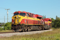 Thanksgiving 109 (TolgaEastCoast) Tags: fec train 109 little river el portal hialeah florida miami es44c4 east coast railway railroad
