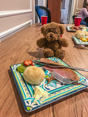 Little Trumpet Case Bear's Thanksgiving (flickr4jazz) Tags: tx unitedstates