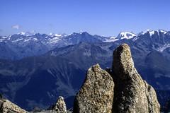 Le Alpi del Vallese viste dalla Cabane du Trient (3 170). (giorgiorodano46) Tags: agosto1986 august 1986 giorgiorodano alps alpi alpen alpes alpesvalaisannes alpipennine vallese valais wallis trient svizzera alpisvizzere suisse suisseromande schweiz switzerland swissalps