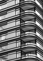 Balconies # 3 (Joseph Pearson Images) Tags: building abstract london principaltower fosterandpartners blackandwhite bw mono balcony balconies architeture