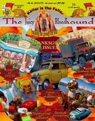The Juicy Bloodhound - November 2019 (MayorPaprika) Tags: mini figs figure paprihaven pvc miniature smallscale figurine diorama toy story scene custom paint bricks plastic vinyl magazine