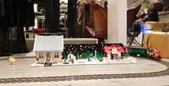 Lego Xmas Exhibition 2019 (Elfworld) Tags: lego exhibition xmas christmas advent bricks art building models afol mall molde photography hobby nerdy geeky minifigs minifigure starwars dccomics snow winter skiing claire train