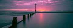 Sunset over West Wittering sands (BarryTurnerPhotography) Tags: leefilter nd10 nd3softgrad lee 100 filter system nikon d810 nikkor24120mmafsvr long exposure sunset wittering westsussex seascape colour barryturner chichester groins beach seaside