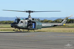 VH-UVC BELL UH-1H HUEY (QFA744) Tags: vhuvc bell uh1h huey