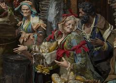 scenetta (Paolo Dell'Angelo (JourneyToItaly)) Tags: ferrigno viadeipresepi napoli campania italia viasangregorioarmeno naples italy sculpture colours costumes