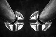 Into the Light (henny vogelaar) Tags: germany berlin architecture ubahn bundestag schultesfrankarchitecten hennyvogelaarfotografie abstract bw blackandwhite light