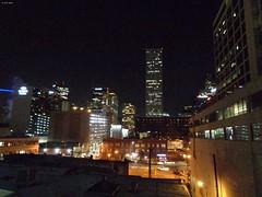 Night Lights (zeesstof) Tags: architecture businesstrip colorado denver downtowndenver geo:lat=3974035191 geo:lon=10499247558 geotagged triptodenver zeesstof