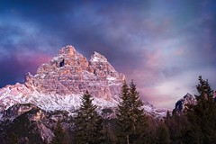 Pinky Dolomites (l.cutolo) Tags: tlp bluehours ononeraw2020 ngc sunrise cime southtyrol purplesunrisesky ai saturation ononeraw2019 scape misurina sonyalpha perfecteffect onesoftware alps auronzodicadore mountains snow sony landscape flickr dolomites lucacutolo luminar4 italy vignette worldtrekker purplesky frozenlake belluno winter pink onone peaks worldtrekking sonya7iii sonyfe70200mmf4goss