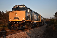 (ryanstuart1) Tags: cnl subdivision passenger train ocs office car special sc csx clinchfield santa christmas f40 f40ph emd locomotive budd pullman cars heavyweight crossing south carolina