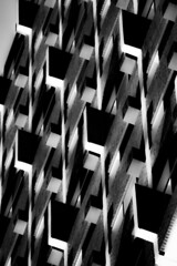 (jfre81) Tags: chicago lakeview east architecture abstract geometry black white bw blackandwhite monochrome texture minimalism line light shadow james fremont photography jfre81 canon rebel xs eos