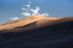 Convergence (Angles & Edges) Tags: sand dunes clouds sky shadow nationalpark greatsanddunesnationalpark nature outdoors sunrise martinwitt anglesedges