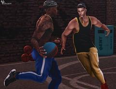 @Galvanized (Sweet Fashion Girl and Boy) Tags: clothing pants galvanized glvnzd jog accessorie pose ultramancreations fireball basketball