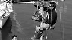 Sailor (patrick_milan) Tags: man portrait boat ship work worker sail bateau marin mat
