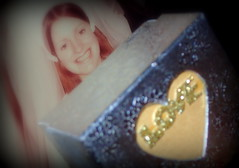 BOX of DREAMS....Happy Looking close....on Friday ! (Lani Elliott) Tags: lanielliott familypics upclose closeup bokeh wedding marriage light bright sparkling glistening glisteningbokeh box lookingcloseonfriday