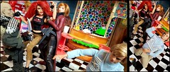 Paprihaven 1557 (MayorPaprika) Tags: 16 custom diorama toy story paprihaven action figure set doll mattel barbie ken bbi blueboxinternational scar wwe evamarie zc girl carol bettyboop boopsscoops diner 50s mtoy marty samsungnote10 plus smn975u