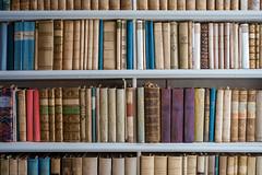 SURROUNDED BY BOOKS (LitterART) Tags: books bücher regal bibliothek library naturwissenschaft naturalhistory naturalscience