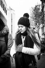 These days (koen_jacobs) Tags: streetphotography blackandwhite smoking winter