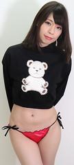 Yes. More Bears For Christmas. (emotiroi auranaut) Tags: woman lady beautiful model teddybear christmas cute lovely gorgeous