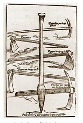 Arnesi per lo scasso (Sparkling Wines of Puglia) Tags: vigna illustrated illustraciones illustrazioni illustrations illustration antico ancien zappatura